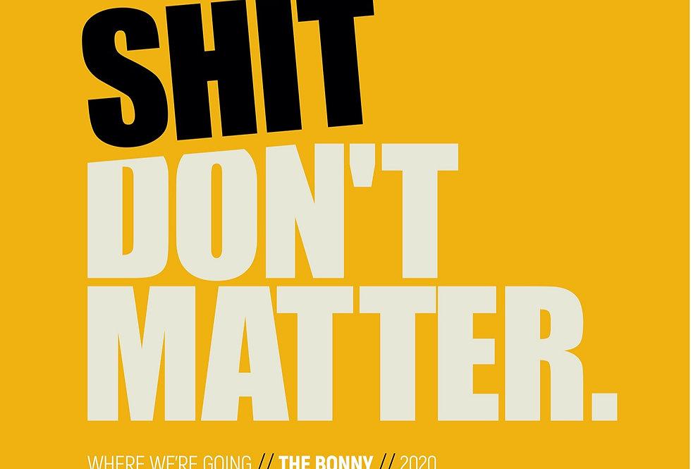 Gerry Cinnamon Where We're Going Lyrics Poster Art Print The Bonny Album