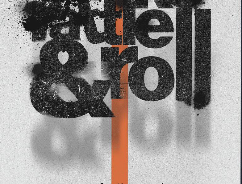 Shake, Rattle & Roll Arctic Monkeys Grunge Poster Art Print