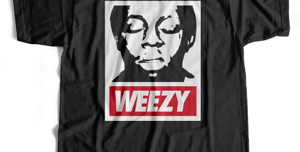 Obey Weezy Lil Wayne Hip-Hop T-shirt and Hoody