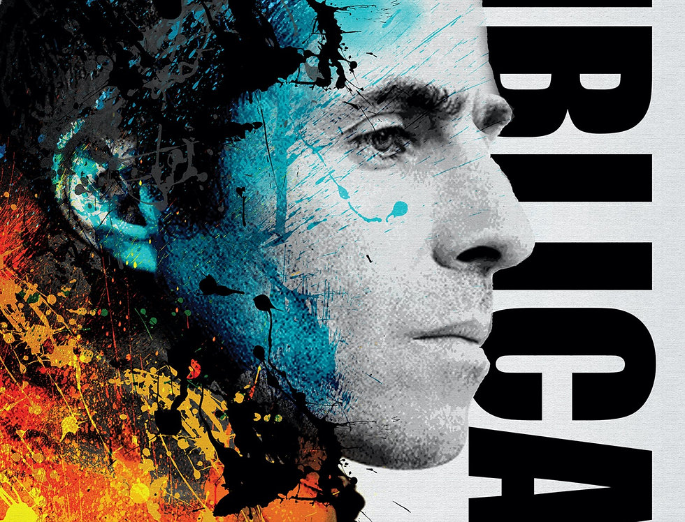 Biblical Liam Gallagher Poster Art Print Graffiti Street Artwork
