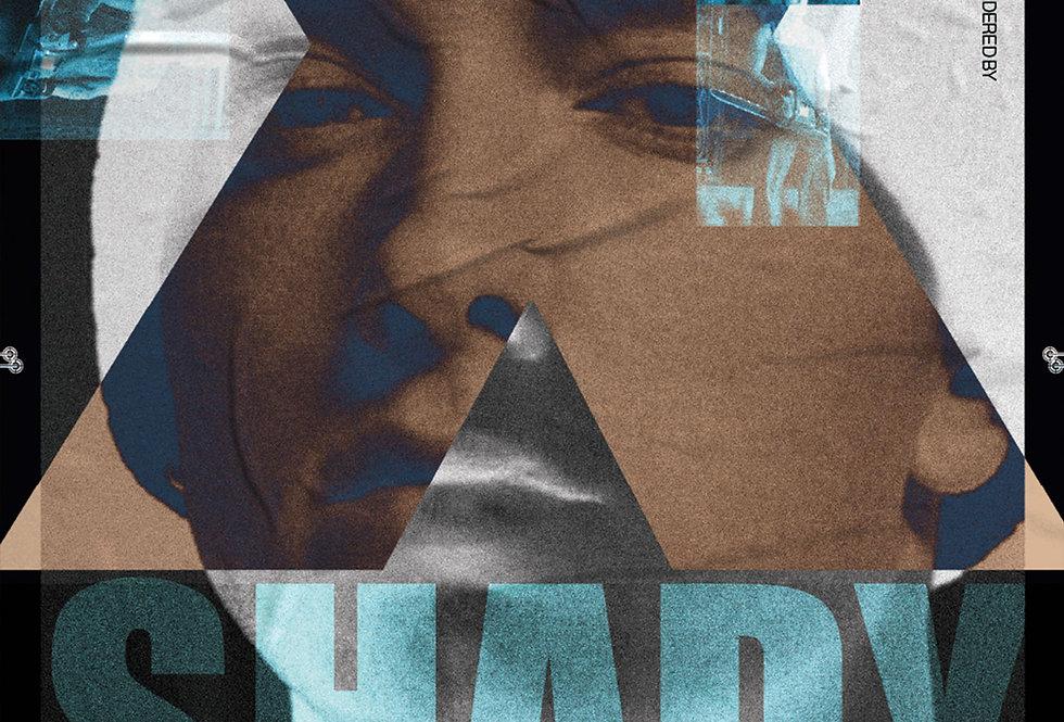 Music To be Murdered By Poster Art Print Slim Shady Graffiti