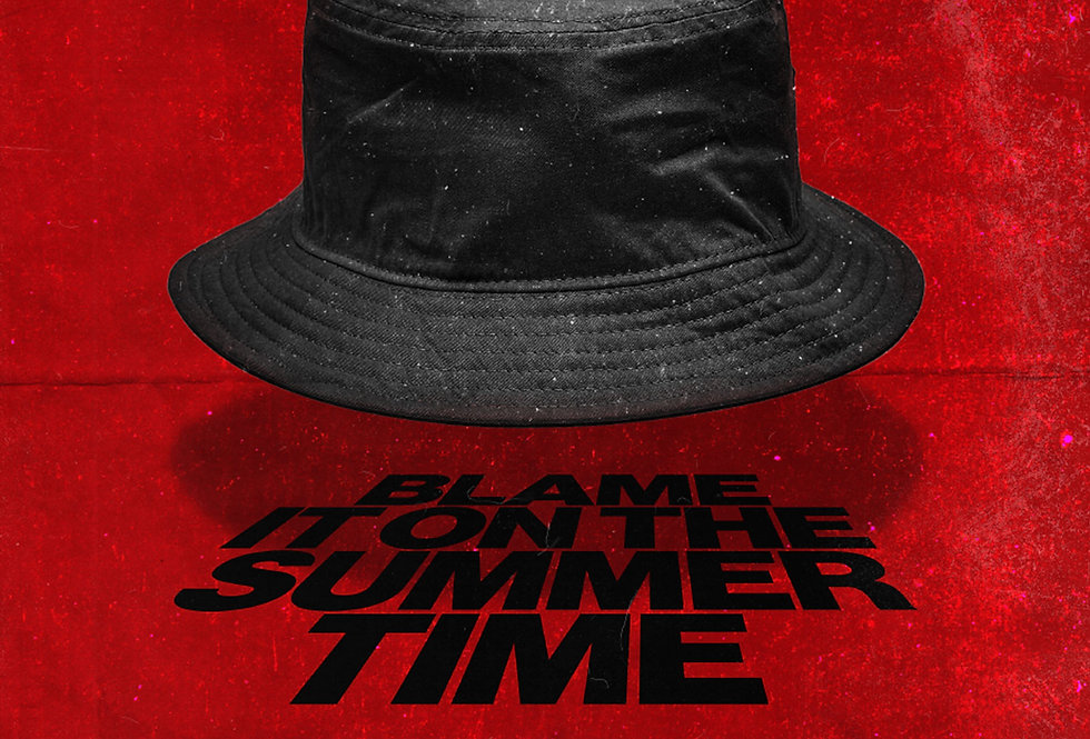 Miles Kane Blame It On The Summer Time Grunge Red Art Print