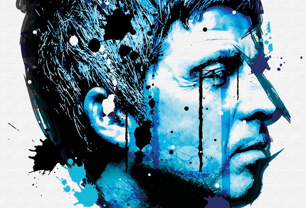 Noel Gallagher Graffiti Poster Art