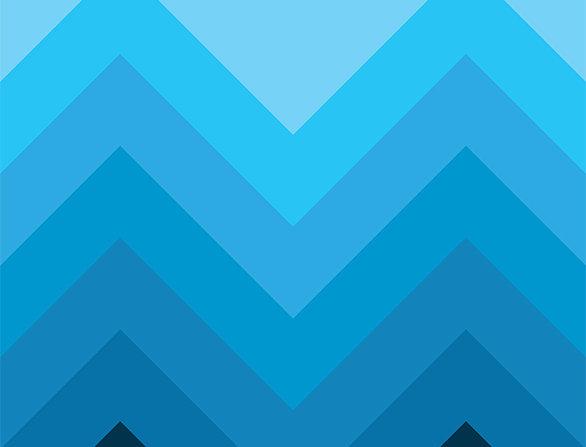Retro Lounge Blue Peaks 60s Love Poster Art Print