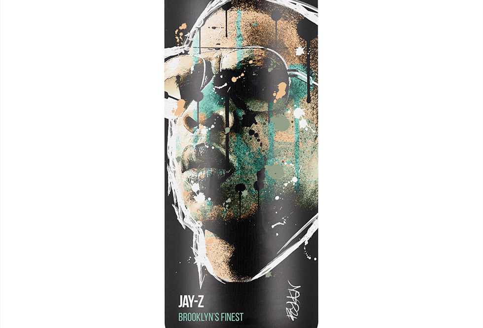 Jay-Z Hip-Hop Spray Can Art Print