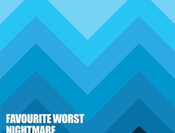 Favourite Worse Nightmare Arctic Monkeys 60's Lounge Retro Art Print
