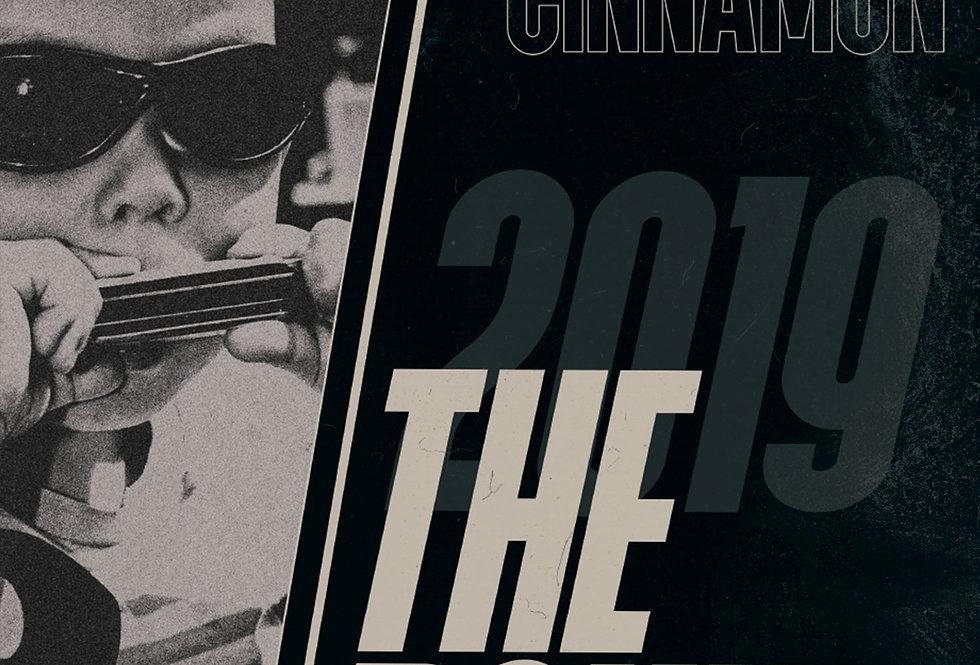 Gerry Cinnamon The Bonny Swiss Grunge Poster Art Print