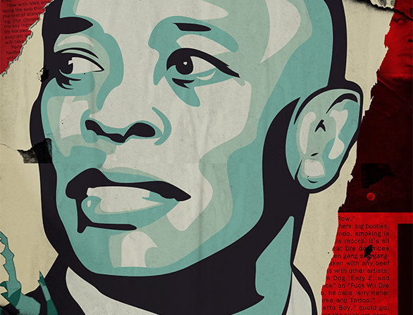 Obey Dr Dre The Chronic Graffiti Poster Art Print