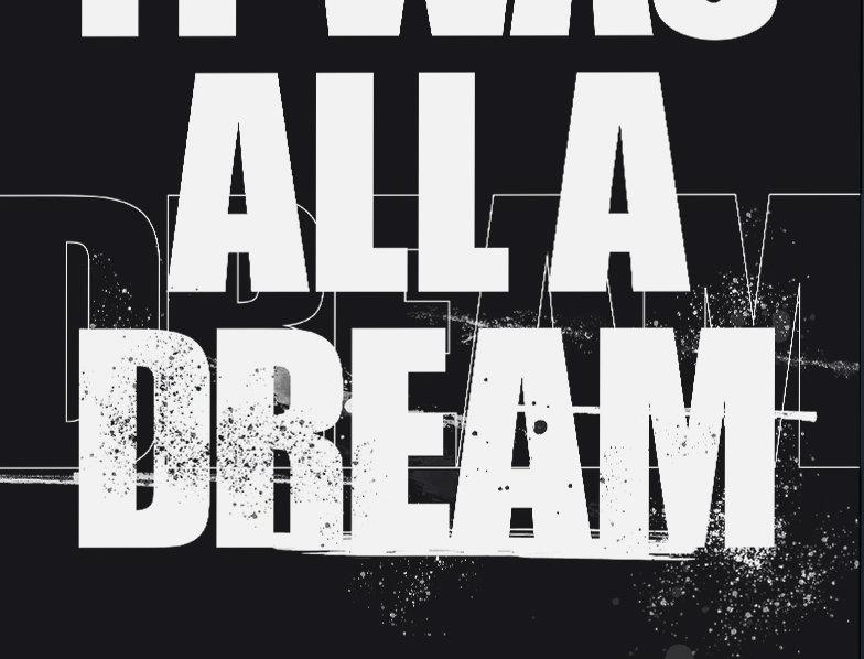 It Was All A Dream Biggie Smalls Poster Art Print