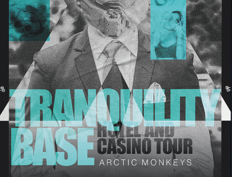 Arctic Monkeys Tranquility Base Tour Poster Art Print
