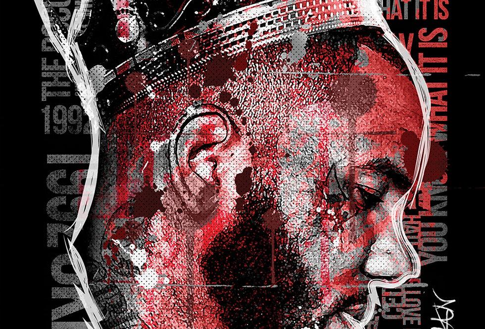 Game King Of LA Blood Gang Art
