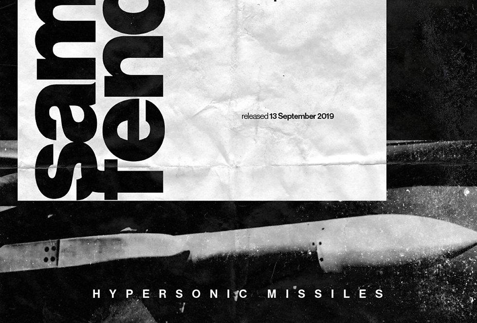 Sam Fender Hypersonic Missiles Grunge Art Print