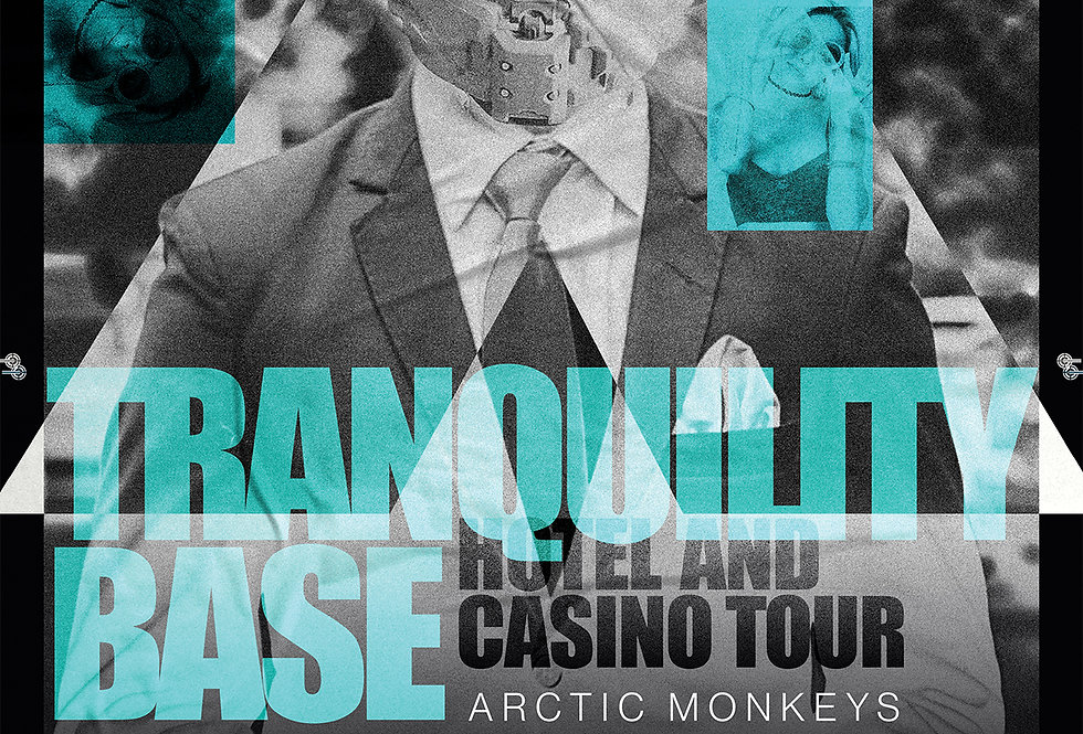 Tranquility Base Hotel & Casino Tour Poster Art Print