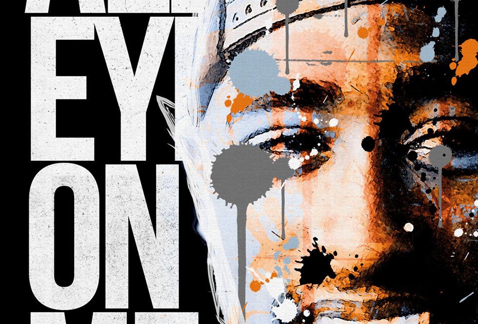 All Eyes On Me 2Pac Hip-Hop Graffiti Art