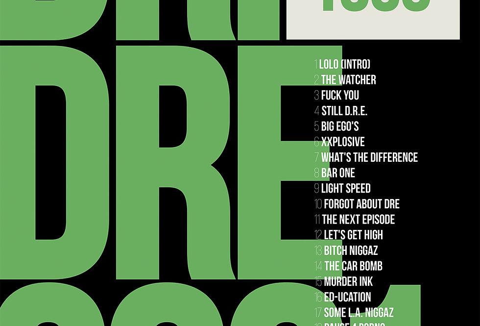 Dr. Dre 2001 Poster Album Chronic Hip-Hop Art Print