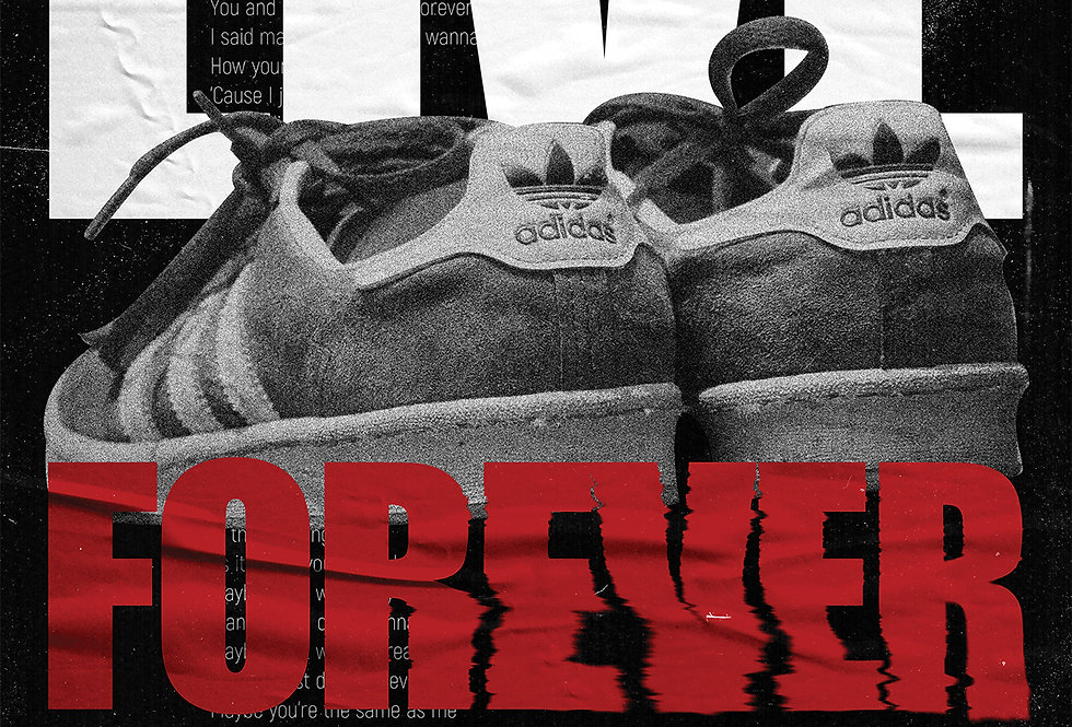 Live Forever Britpop Poster Definitely Maybe Art Print
