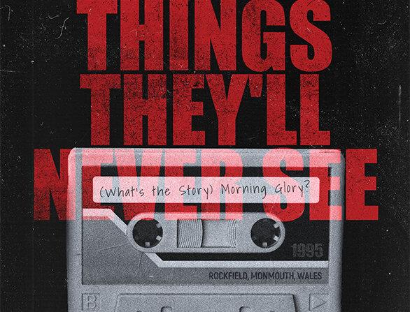 Oasis Live Forever Grunge Poster Art Print