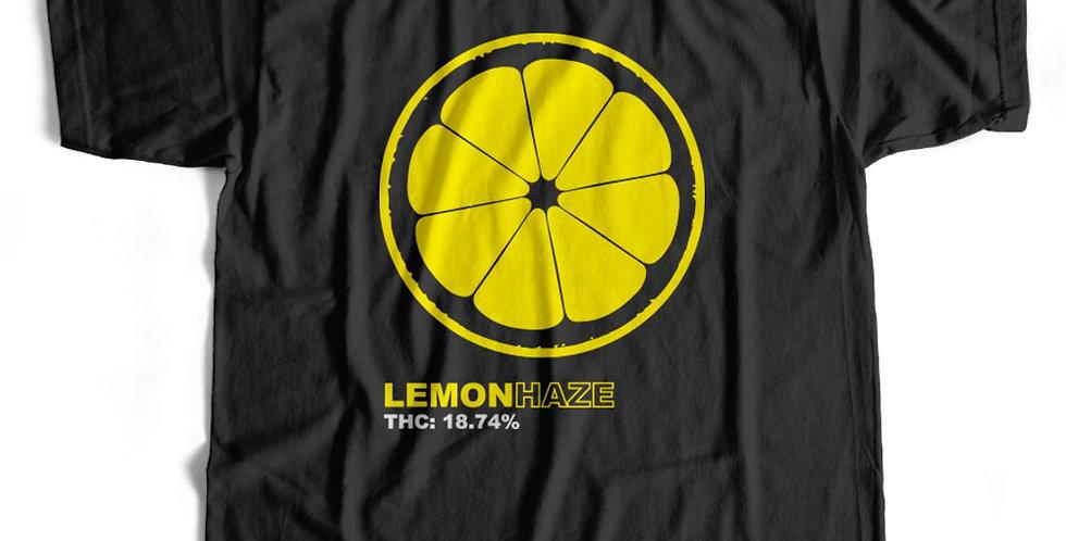 Lemon Haze Weed THC Strain Tee / Hoody