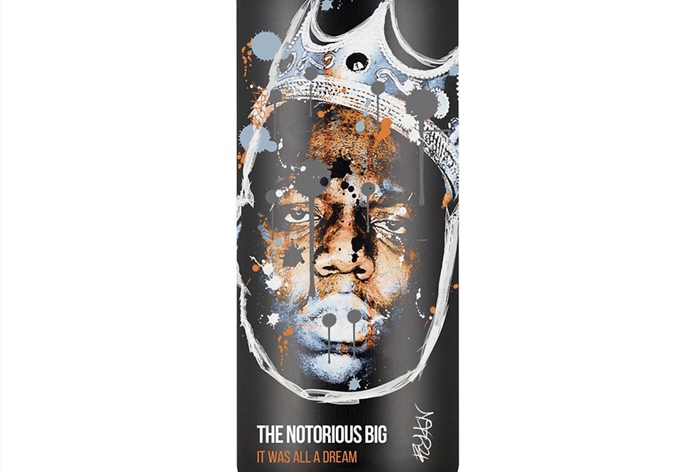 Notorious BIG Spray Can Art Print