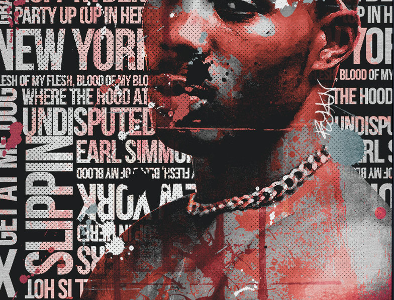 RIP DMX Tribute Poster Art Print Ruff Ryders Anthem
