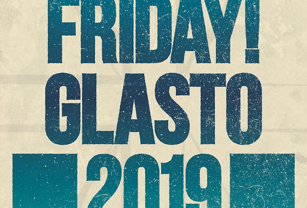 Stormzy Friday! Pyramid Stage Glastonbury Headliner