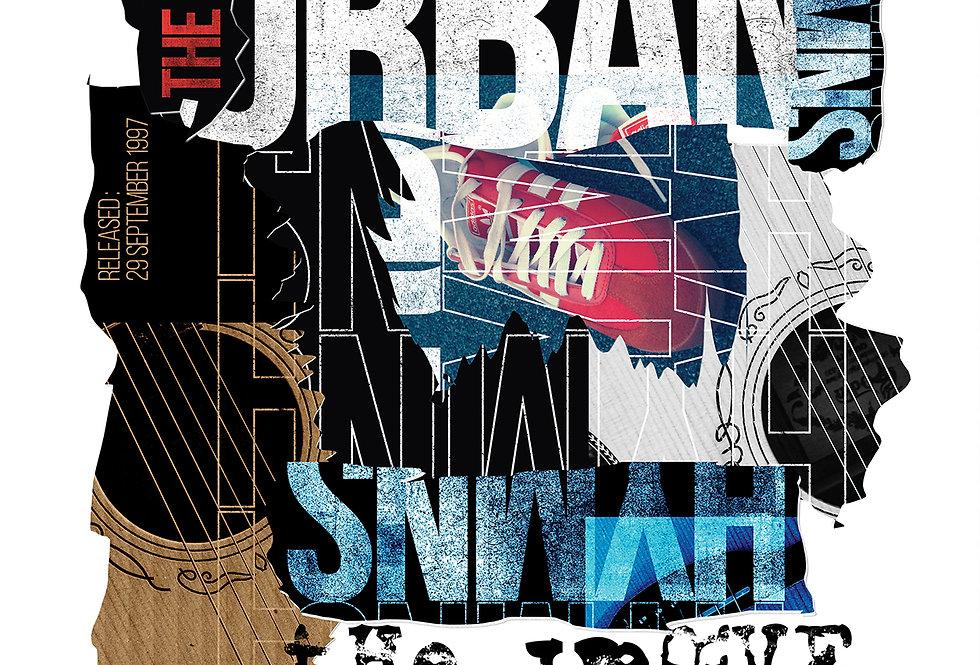 The Verve Poster Art Print Urban Hymns 90's Britpop