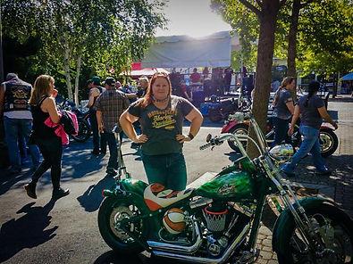 harley davidson jillagain travels writing motorcycles seattle storm pyrotechnician blog writer organic gardening