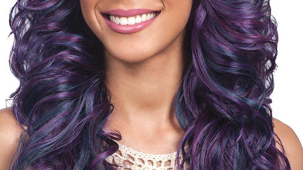Purple Mermaid w/ Center part