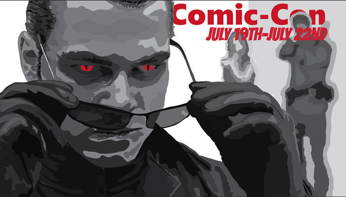 Mock Comic-Con Poster