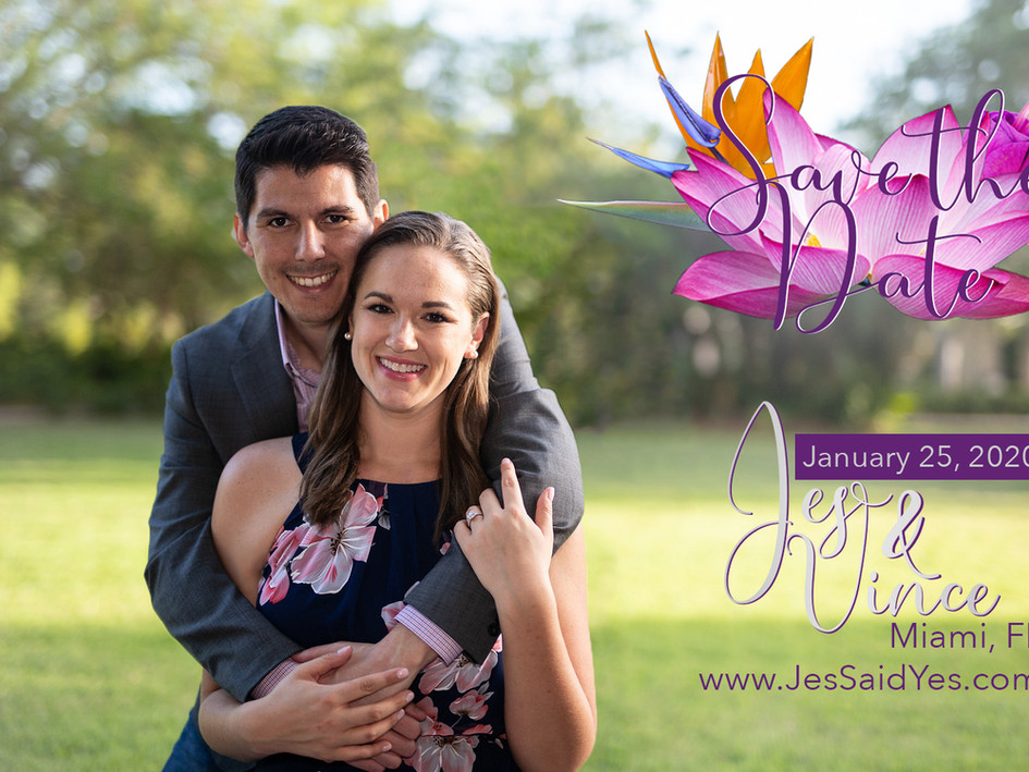 Jes and Vince's Save the Dates