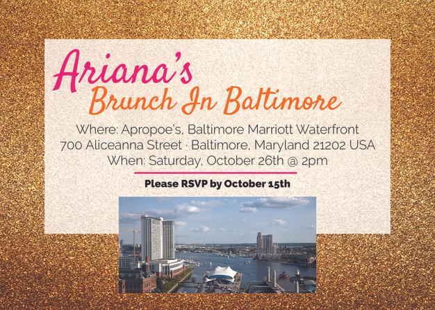 Ari's Birthday Invitations
