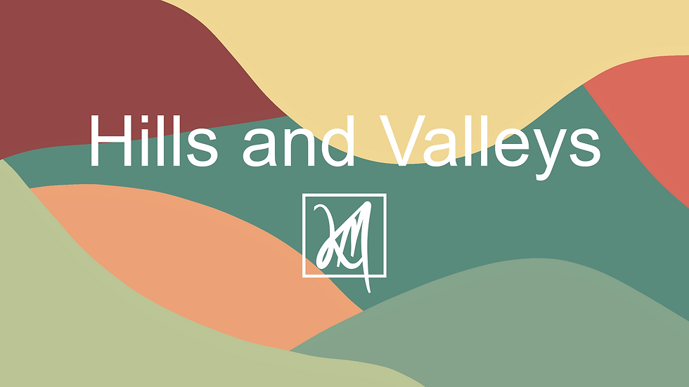 Hills and Valleys - Images Template