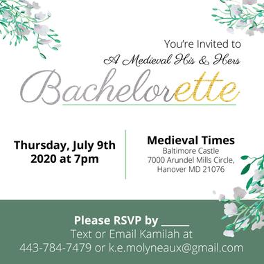 Bachelor & Bachelorette Invitations