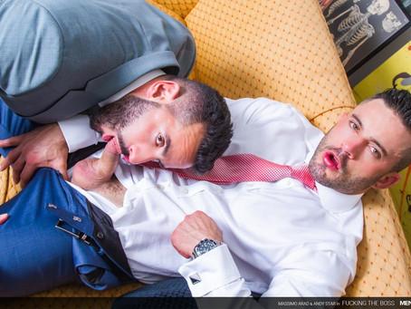 Men At Play - Fucking The Boss - Andy Star & Massimo Arad