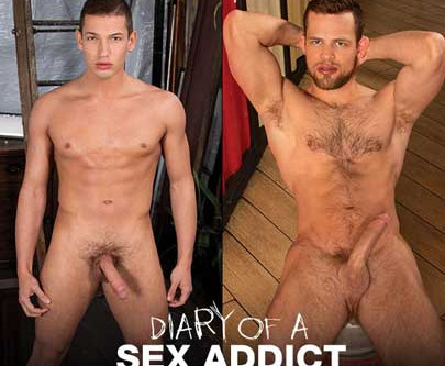 Falcon Studios – Diary Of A Sex Addict – Kurtis Wolfe and Hunter Smith