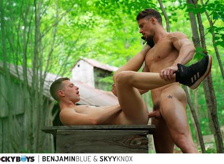 CockyBoys - Benjamin Blue & Skyy Knox