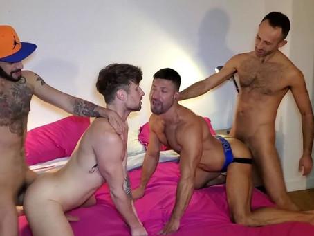 Raw Fuck Club - Holes of Berlin part 1 - Romeo Davis, Drew Dixon , Vadim Romanov & Sultan Rhodos