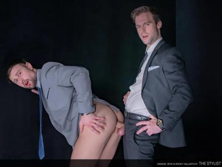 Men At Play - The Lewd Detective - Drew Dixon & Gabriel Clark