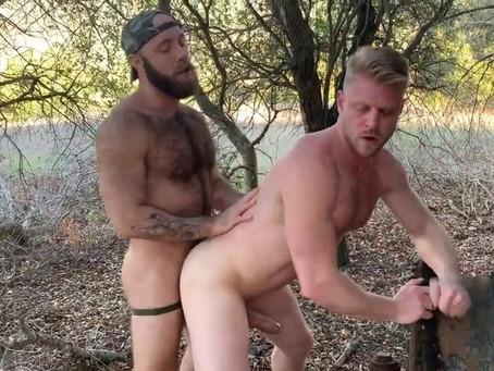 JustForFans - A Hike in Topanga - Logan Stevens & TeddyBear