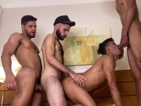XVideos Red - Rico Marlon, Marcelinho Moreno, Marllon Cortez & Pietro Fontin