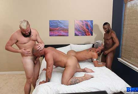 BreedMeRaw – JD Daniels & Sillver Steele & Lion Reed and Daxton Ryker – Part 2