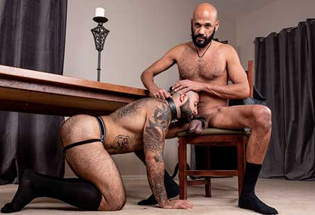 HairyandRaw – Meat – Atlas Grant and Saul Leinad