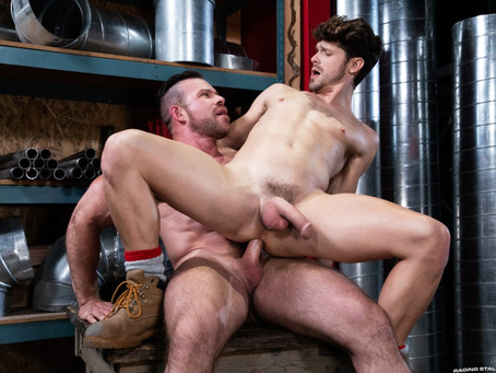 Raging Stallion - Pipe Fitters – Devin Franco & Liam Knox