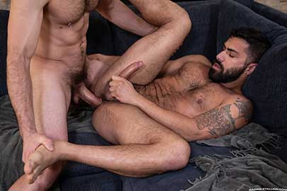 Raging Stallion - Loaded – Muscle Fuck! – Adam Ramzi and Vander Pulaski
