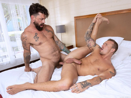 Raging Stallion – Get A Room Too – Isaac X & Alpha Wolfe