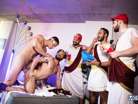 Men - Tug On My Toga - Malik Delgaty & James Fox