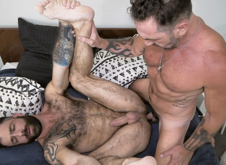 Pride Studios - MenOver30 - Pups Birthday Flip Fuck - Vince Parker & Jake Nicola