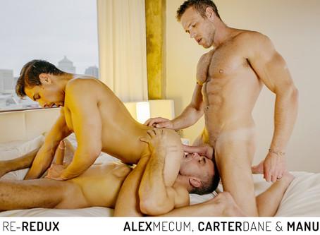 Cocky Boys - Alex Mecum, Carter Dane & Manuel Skye