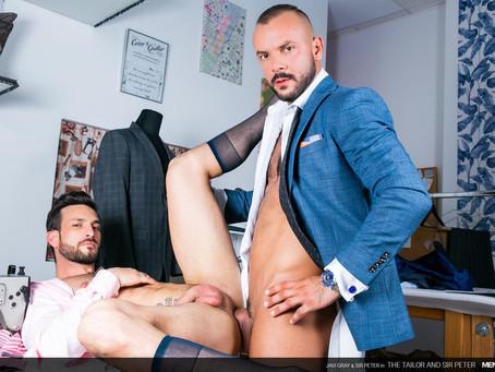 Men At Play - The Tailor and Sir Peter - Javi Gray & Sir Peter