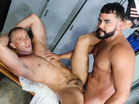 Pride Studios - MenOver30 - Post Workout Desires - Armando De Armas & Ashill Bay